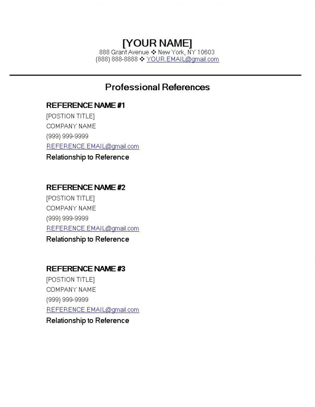 000 Amazing Apa Reference Page Template High Definition  Format In Word For Website GeneratorLarge