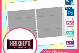 000 Amazing Candy Bar Wrapper Template Photoshop Concept  Chocolate