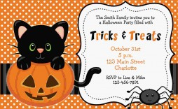 000 Amazing Free Halloween Party Invitation Template Photo  Templates Birthday For Word