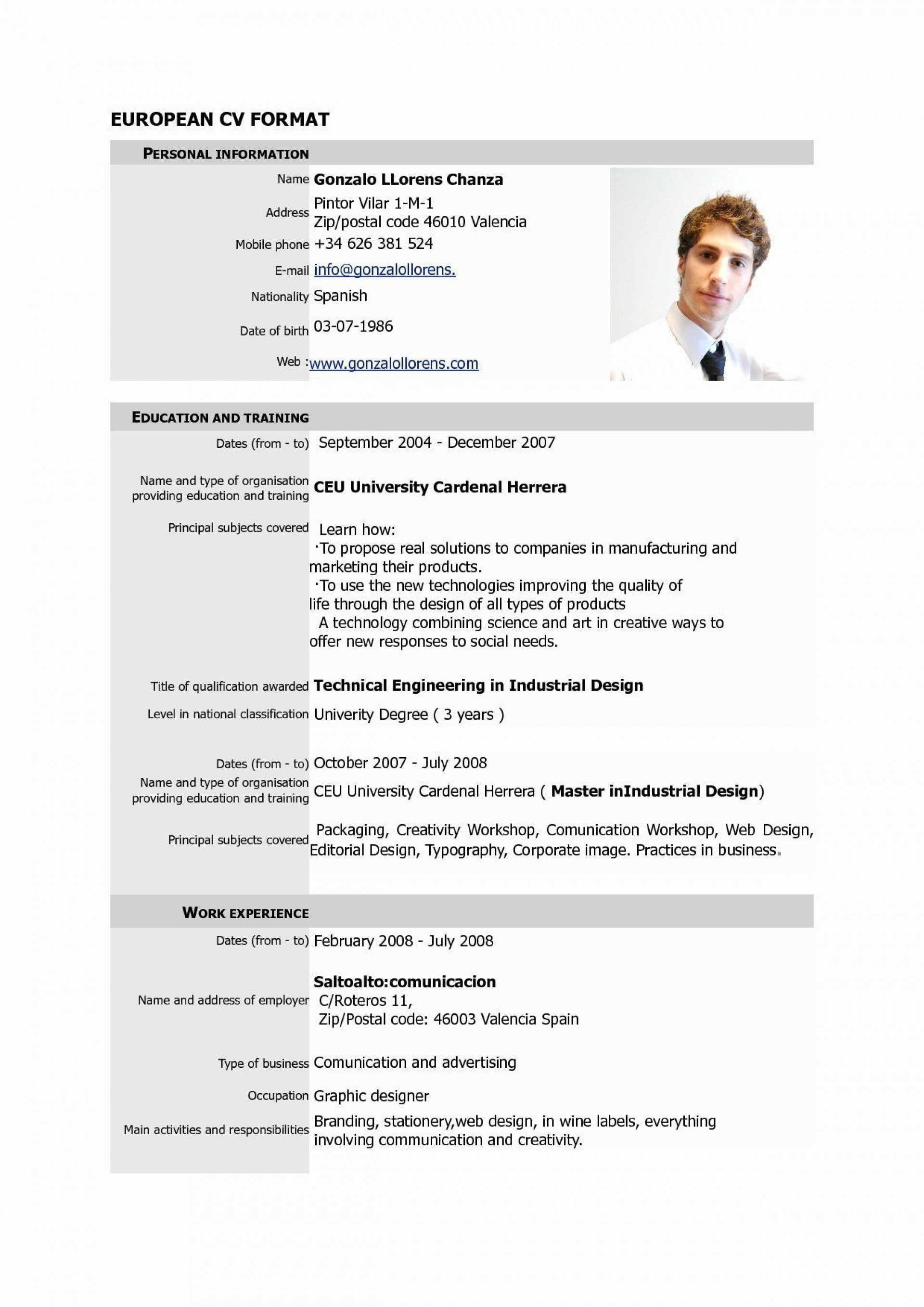Free Resume Template Pdf Addictionary