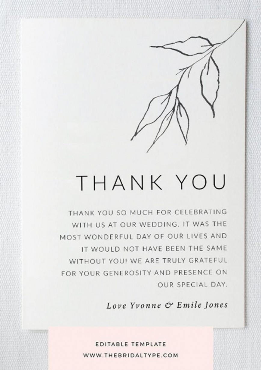000 Amazing Free Thank You Card Template Sample  Download Word Printable For