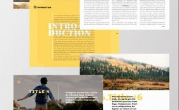 000 Amazing Magazine Template For Microsoft Word Photo  Layout Design Download