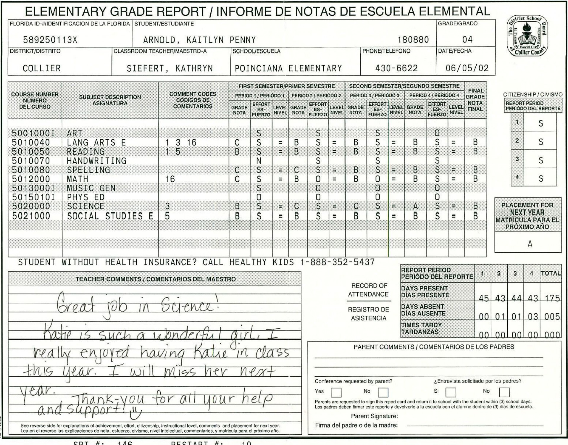 000 Amazing Middle School Report Card Template Pdf Inspiration 1920