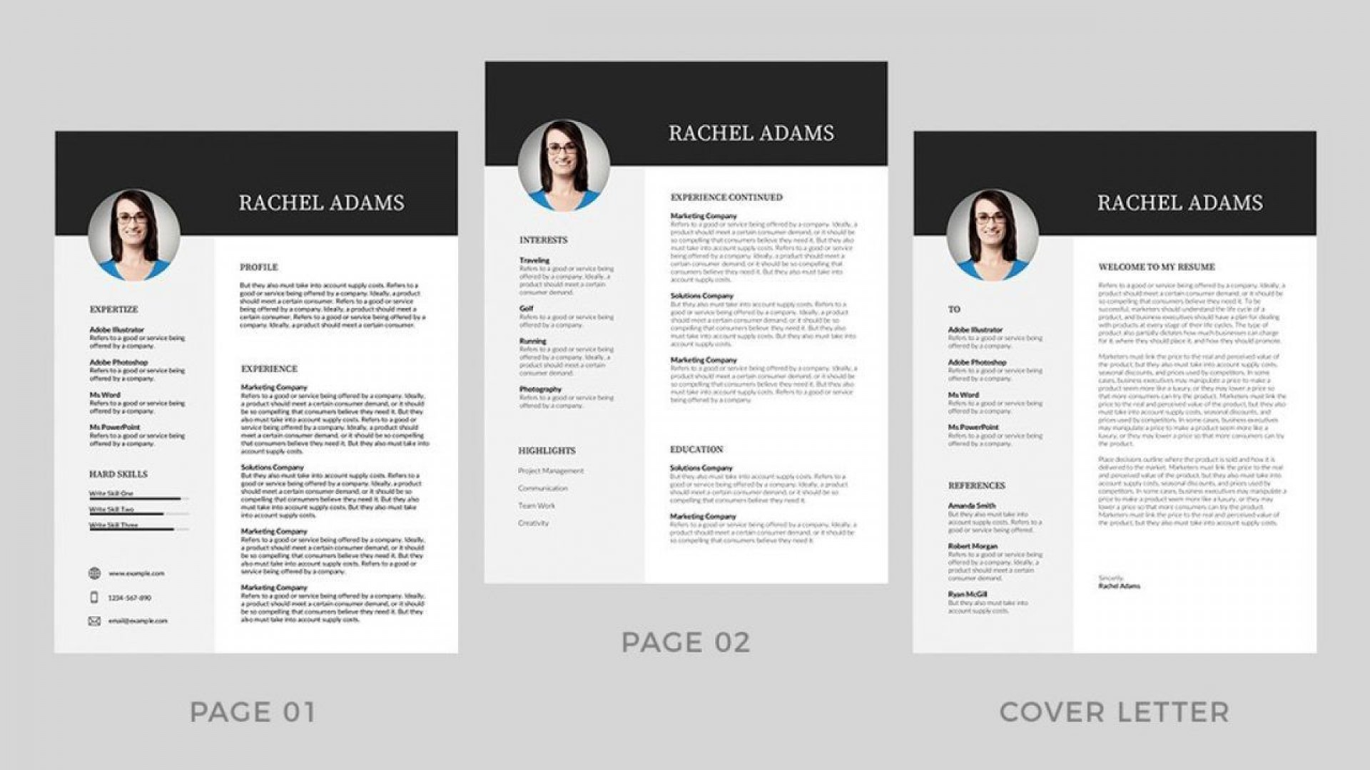 000 Amazing Modern Cv Template Word Free Download 2019 Highest Clarity 1920