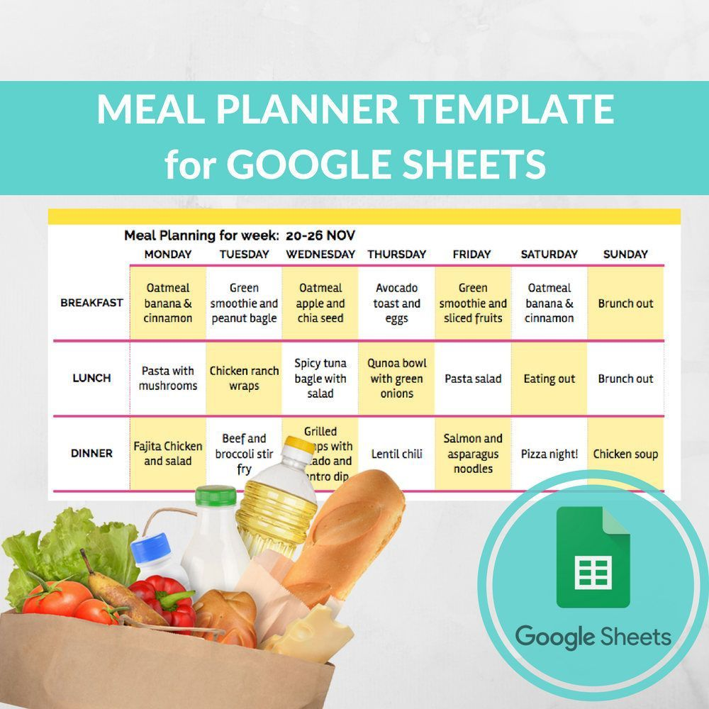 000 Amazing Monthly Meal Plan Template Google Doc Picture  DocsFull