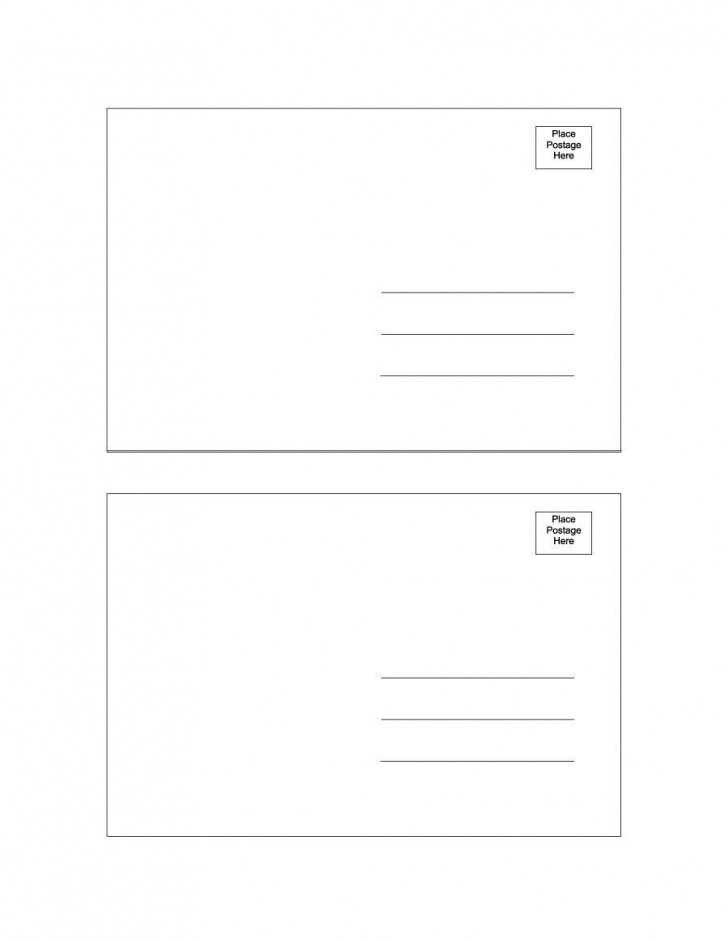 000 Amazing Postcard Layout For Microsoft Word Photo  Busines Template728