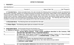 000 Amazing Purchase Agreement Template Real Estate Picture  Pdf Sale New Brunswick