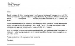 000 Amazing Rent Increase Letter Template Inspiration  Templates Commercial Uk Ontario