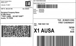 000 Amazing Shipping Label Template Word 2016 Photo