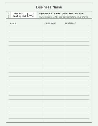 000 Amazing Sign Up Sheet Template Concept  Volunteer In Word Work320