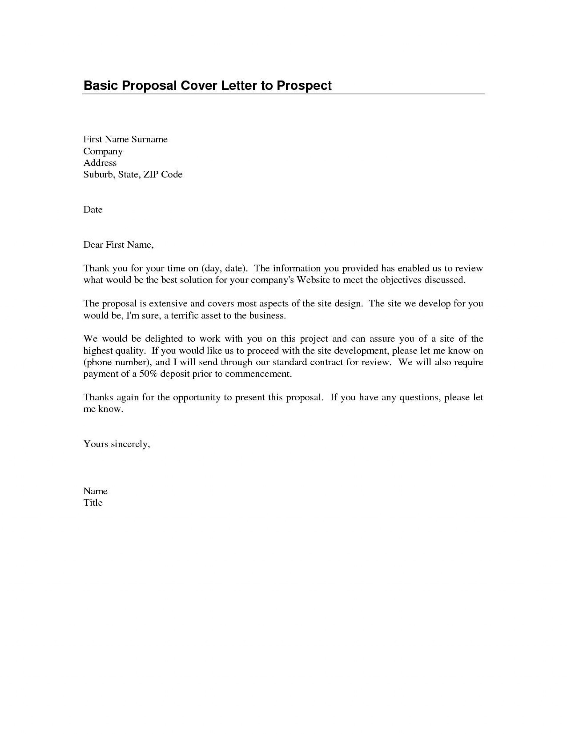 000 Archaicawful Basic Covering Letter Template Picture  Simple Application Word Example Of Job Cover1920