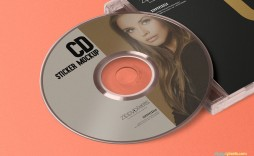000 Archaicawful Cd Label Design Template Free Download Highest Quality  Cover Psd