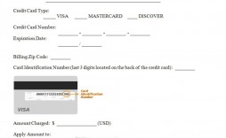 000 Archaicawful Credit Card Authorization Template Image  Form Pdf Fillable Free