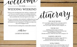 000 Archaicawful Destination Wedding Welcome Letter And Itinerary Template High Resolution