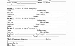 000 Archaicawful Employee Emergency Contact Form Template High Def  Uk Free