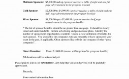 000 Archaicawful Event Sponsorship Proposal Sample Pdf  For Letter Music Template