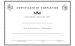 000 Archaicawful Free Certificate Of Completion Template Inspiration  Blank Printable Download Word Pdf