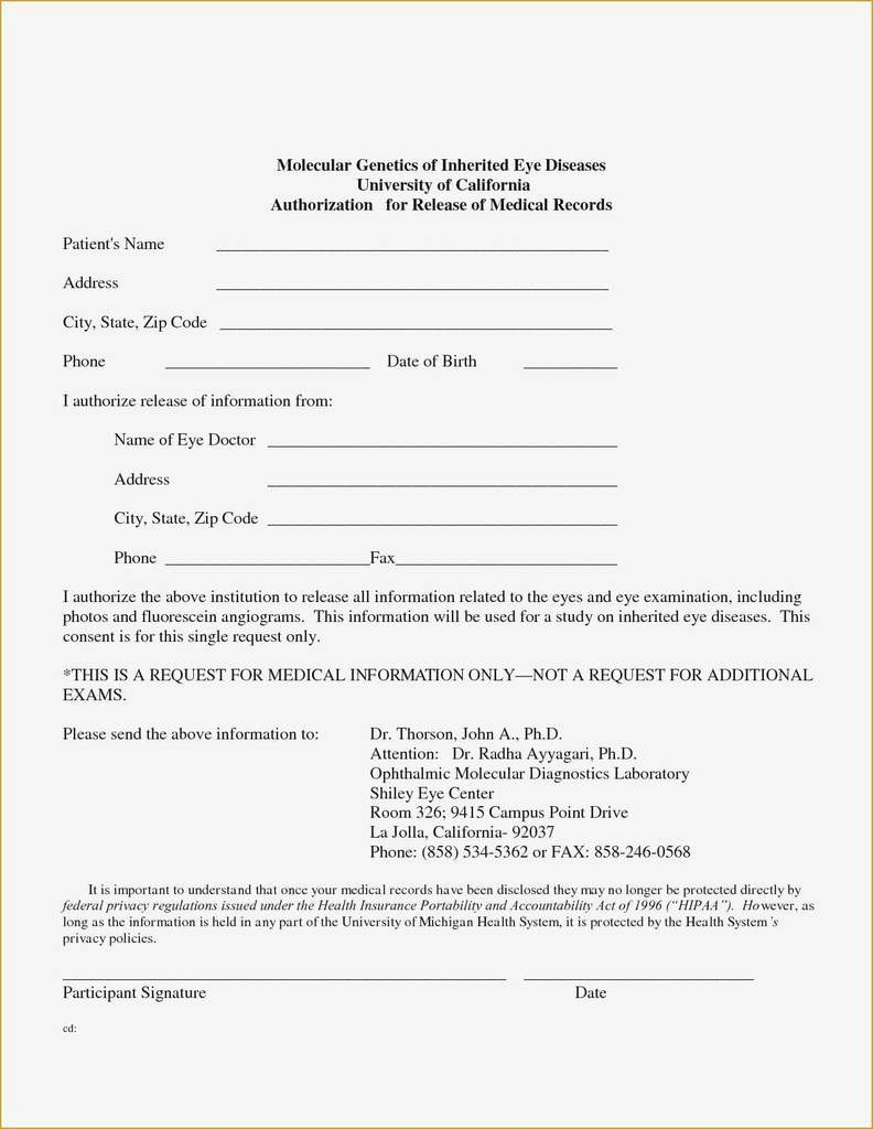 000 Archaicawful Free Medical Consent Form Template Sample  Child Pdf UkFull