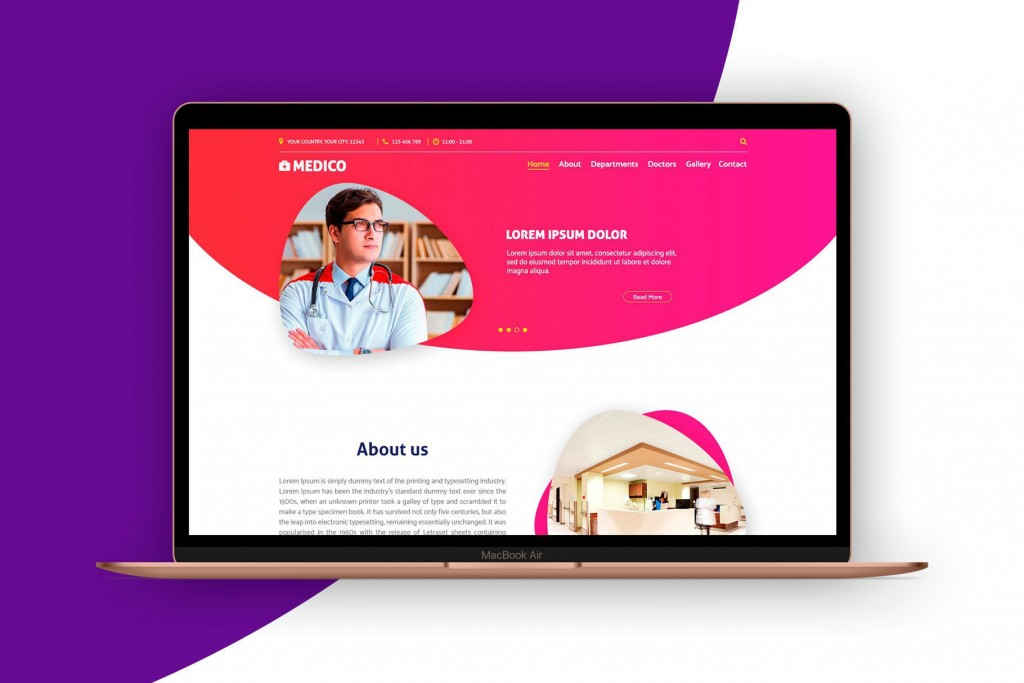 000 Archaicawful Iran Free One Page Psd Website Template Highest Clarity Large