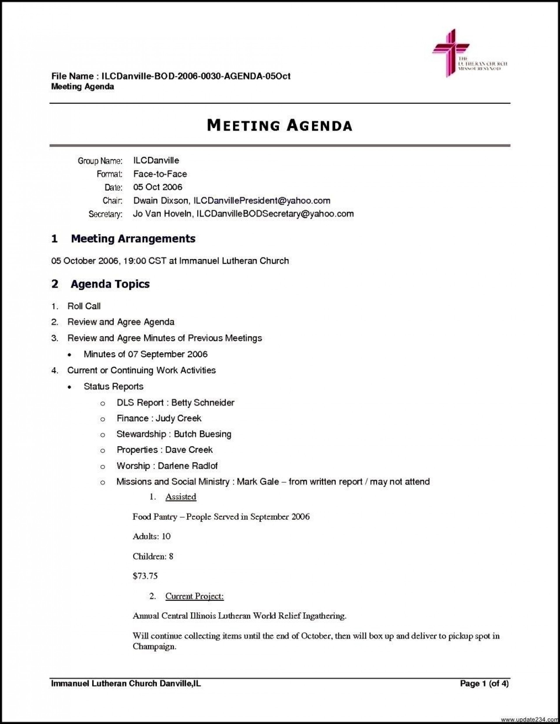 000 Archaicawful Meeting Agenda Template Free Design  Microsoft Word Board1920