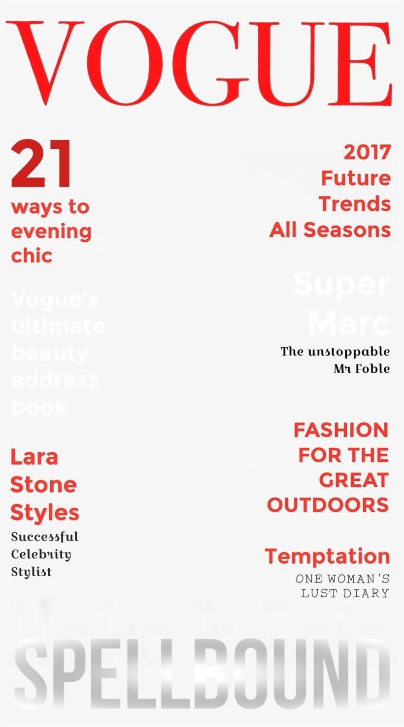 000 Archaicawful Photoshop Fashion Magazine Cover Template Free Sample Full