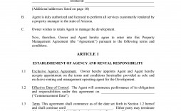 000 Archaicawful Property Management Agreement Template High Resolution  Templates Sample Termination Of Commercial Form