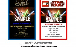 000 Archaicawful Star War Birthday Invitation Template Example  Free Party Printable