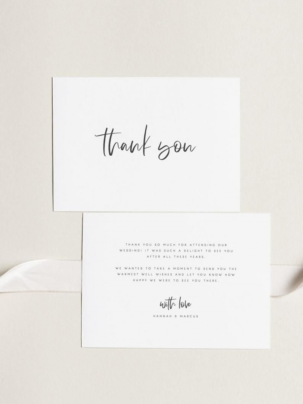 000 Archaicawful Wedding Thank You Card Template Example  Message Sample Free Download Wording For MoneyLarge