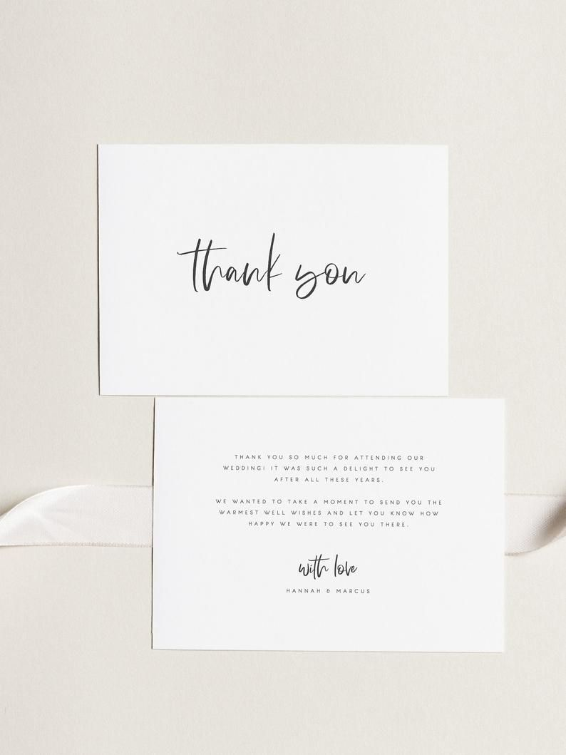 000 Archaicawful Wedding Thank You Card Template Example  Message Sample Free Download Wording For MoneyFull