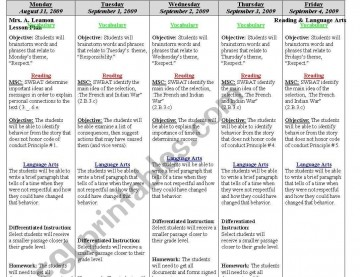 000 Archaicawful Weekly Lesson Plan Template Editable Highest Quality  Google Doc Preschool Downloadable Free360