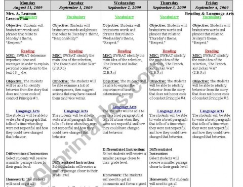 000 Archaicawful Weekly Lesson Plan Template Editable Highest Quality  Google Doc Preschool Downloadable Free480
