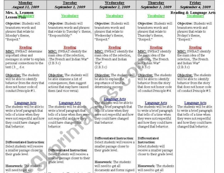 000 Archaicawful Weekly Lesson Plan Template Editable Highest Quality  Google Doc Preschool Downloadable Free728