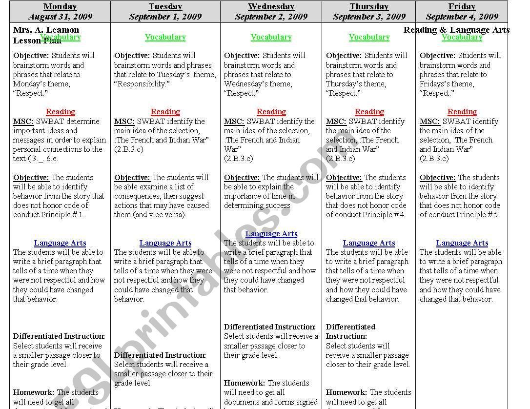 000 Archaicawful Weekly Lesson Plan Template Editable Highest Quality  Google Doc Preschool Downloadable FreeFull