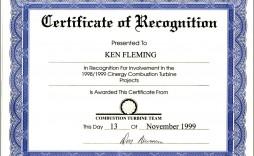 000 Astounding Certificate Of Recognition Sample Wording Design  Award
