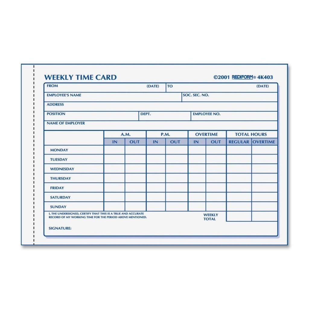 000 Astounding Employee Time Card Form Inspiration  Timesheet Template Excel Sheet FreeLarge