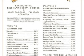 000 Astounding Free Menu Template Download Picture  Beauty Parlour Card Html Design Restaurant