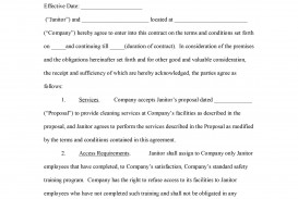 000 Astounding Free Service Contract Template Pdf Photo