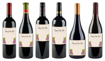 000 Astounding Free Wine Label Template High Def  Bottle Microsoft Word Online Psd360