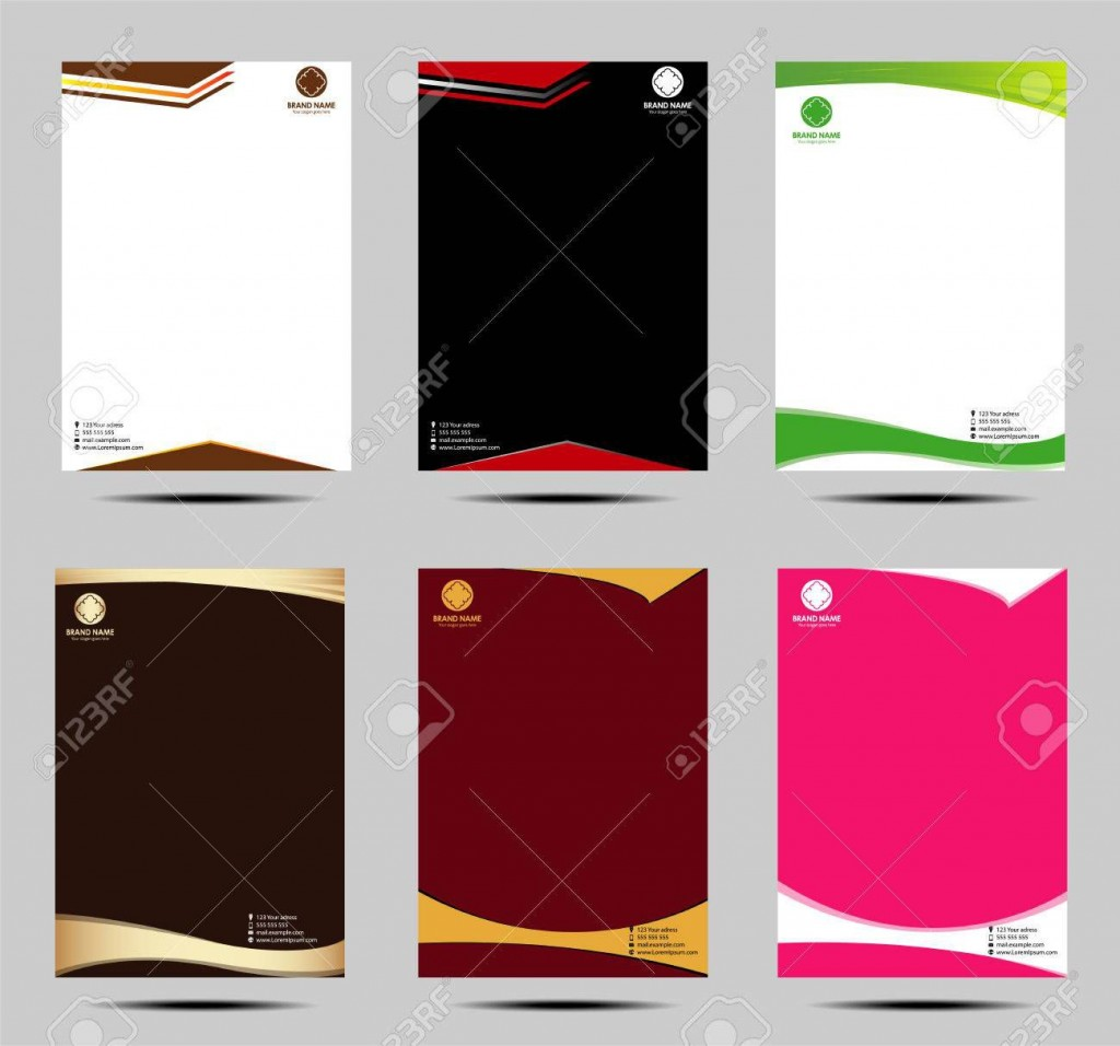 000 Astounding Letter Pad Design Template High Definition  Letterhead Download Ai Free In WordLarge