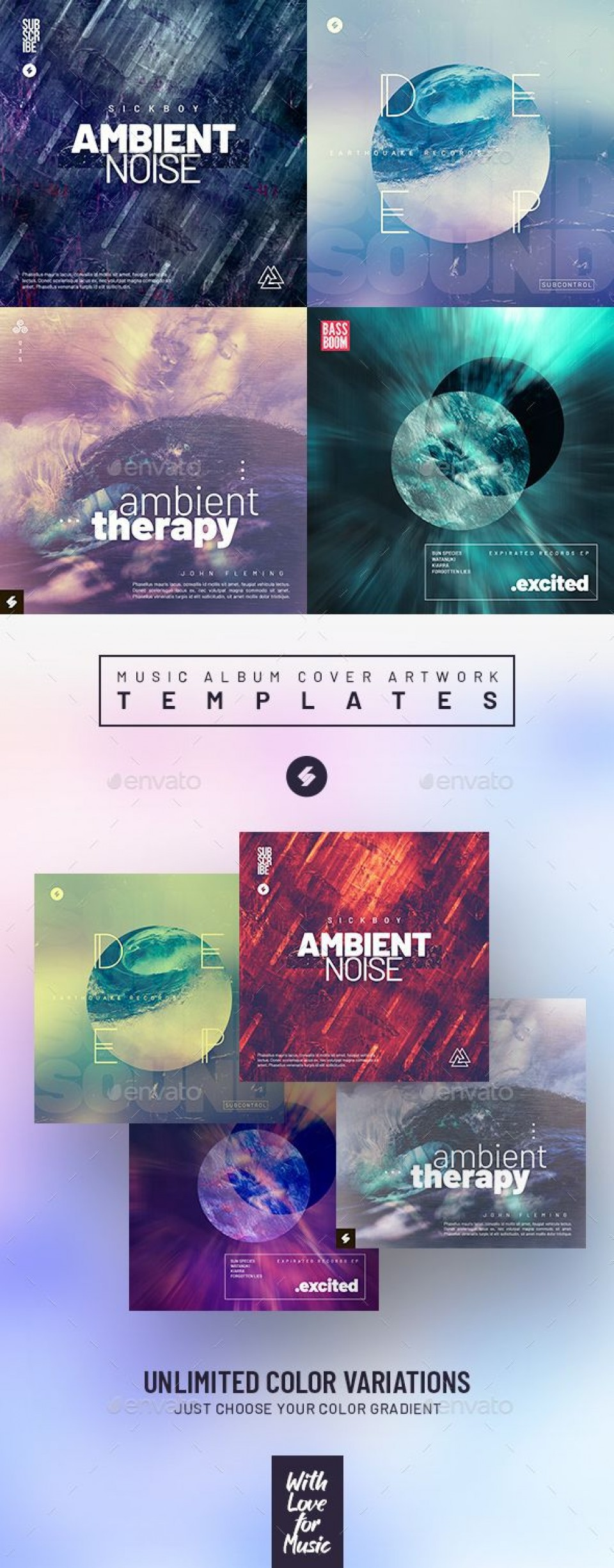 000 Astounding Music Cd Cover Design Template Free Download Photo 960