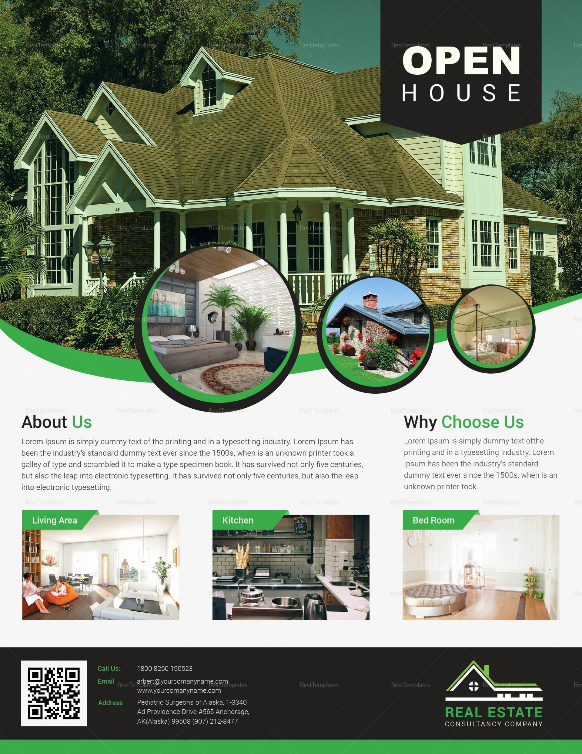 000 Astounding Open House Flyer Template Free Picture  School Microsoft Word Preschool1920