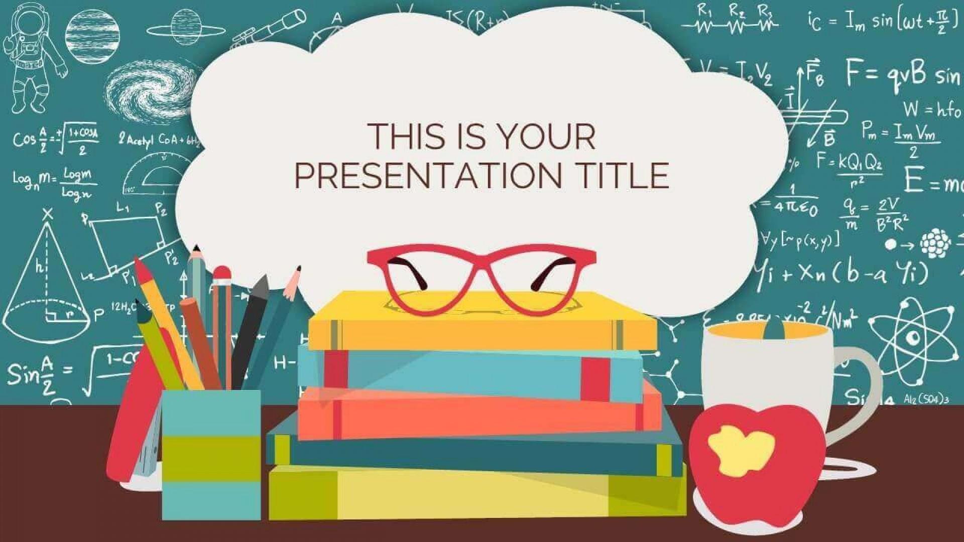000 Astounding Ppt Template For Teacher Example  Teachers Free Download Powerpoint Education Kindergarten1920