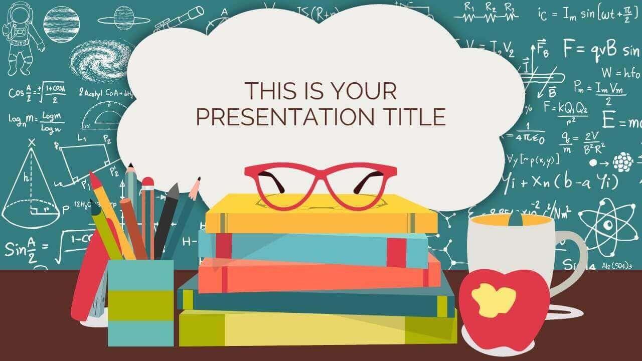 000 Astounding Ppt Template For Teacher Example  Teachers Free Download Powerpoint Education KindergartenFull