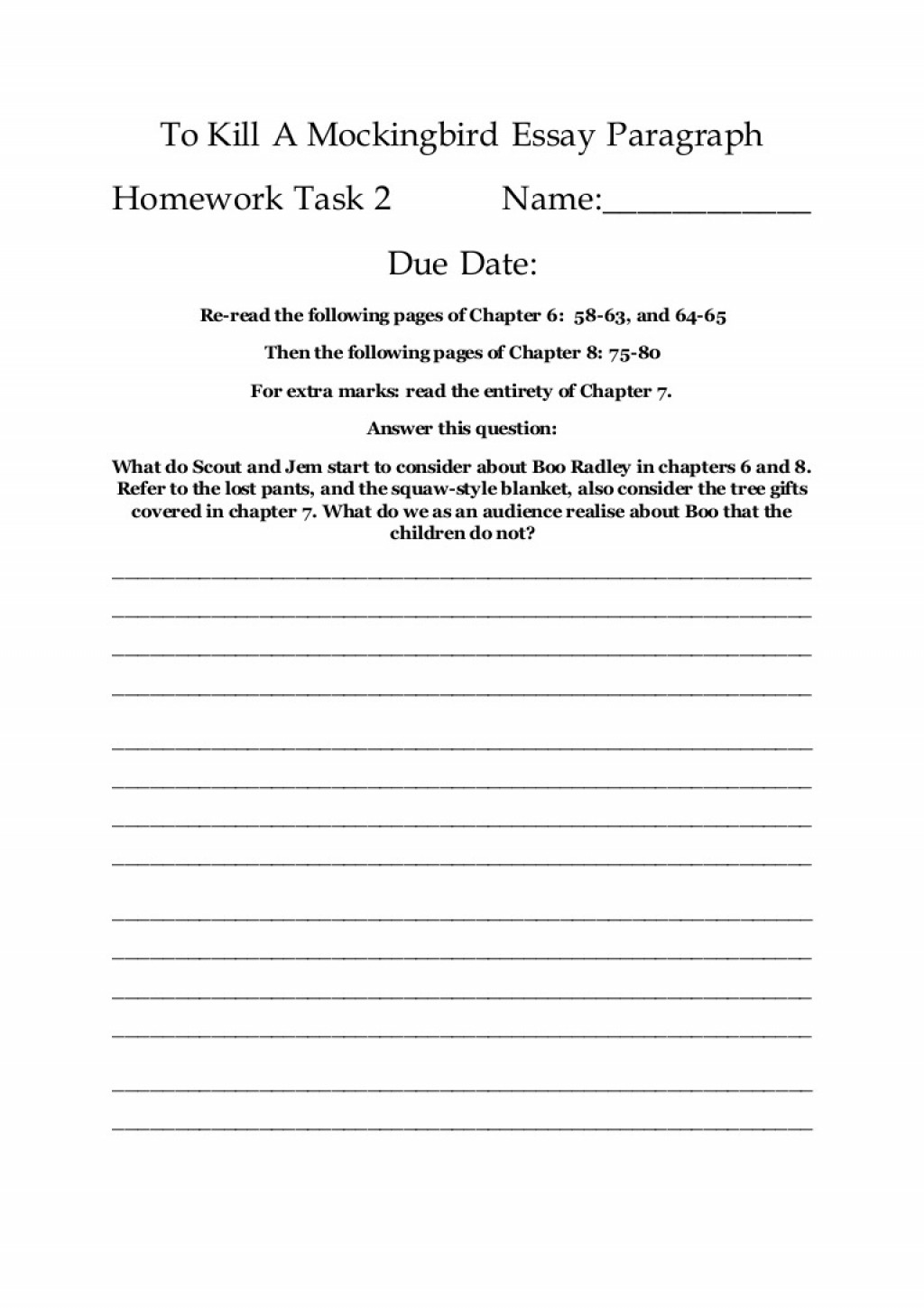 000 Astounding To Kill A Mockingbird Essay Example  Question Courage Thesi PdfLarge