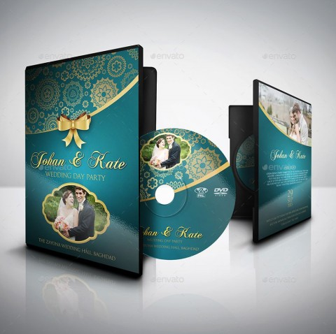 000 Astounding Wedding Cd Cover Design Template Free Download Photo 480