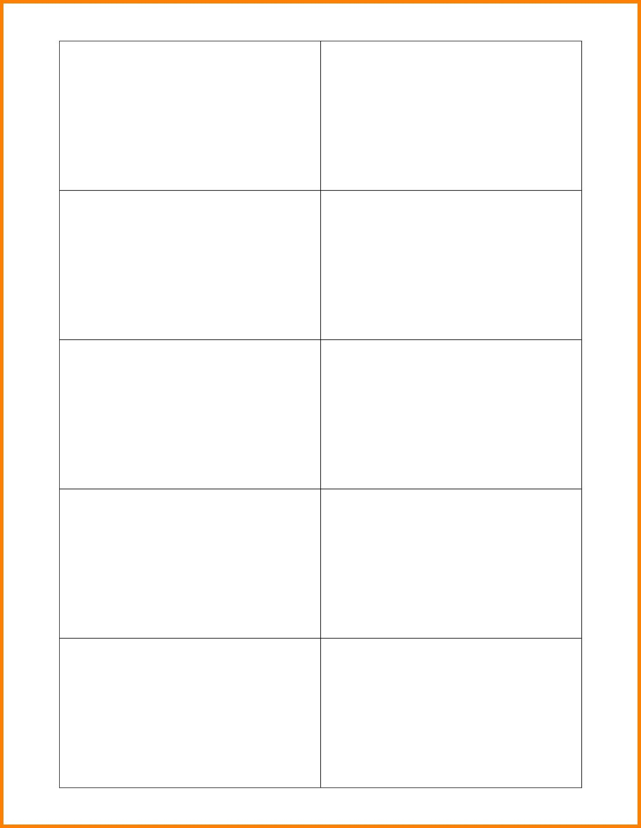 000 Awesome Blank Busines Card Template Word Highest Quality  Vertical Microsoft 2013 AveryFull