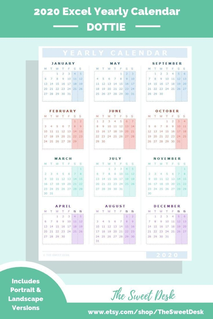 000 Awesome Calendar 2020 Template Excel Picture  Monthly Free Uk In Format DownloadFull