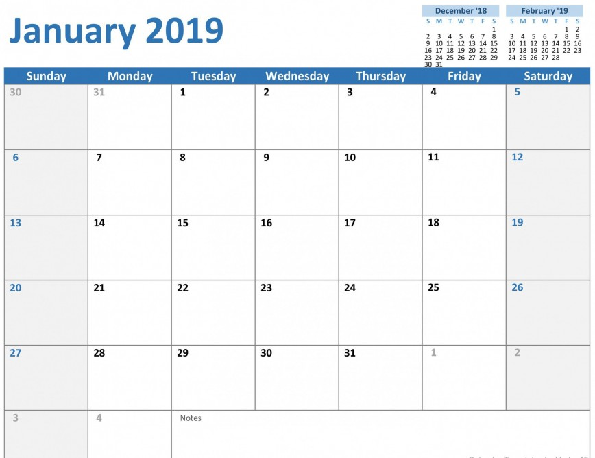 000 Awesome Calendar Template For Word 2010 High Definition  2019