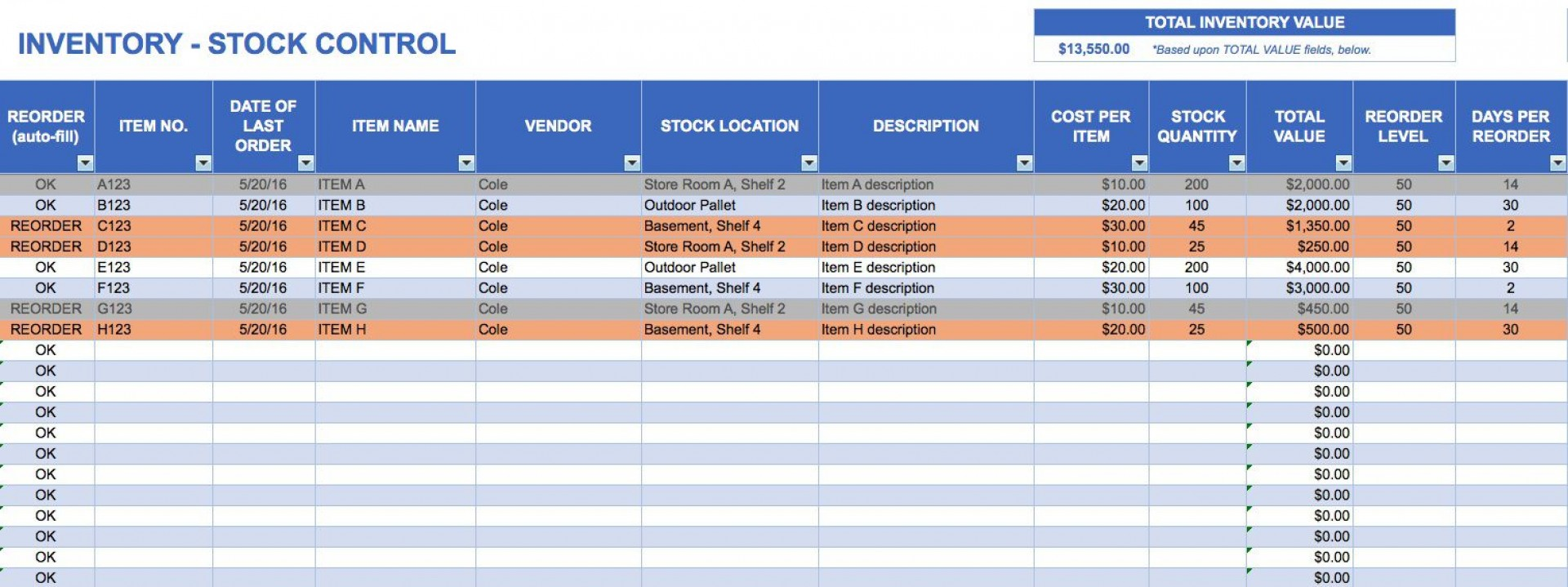 000 Awesome Excel Inventory Template With Formula High Resolution  Formulas Free Uk Pdf1920
