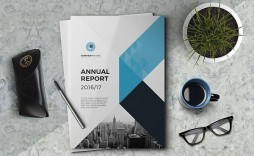 000 Awesome Free Adobe Indesign Annual Report Template Image